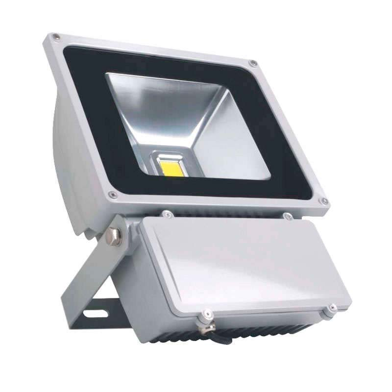 Proyector Led de exterior MICROLED,  80W, Blanco cálido